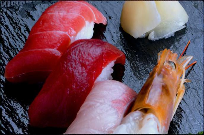 単品握り寿司メニュー画像