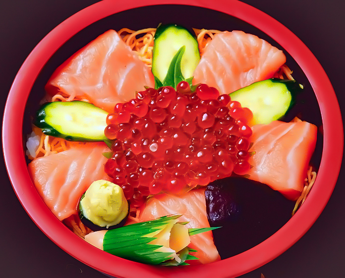 北海丼画像