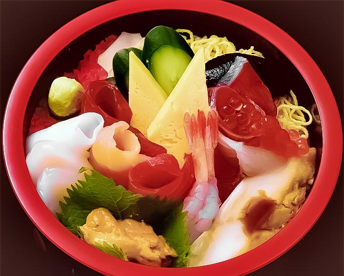 海鮮丼 画像