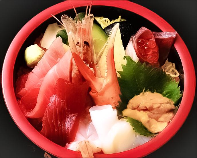 特上海鮮丼 画像